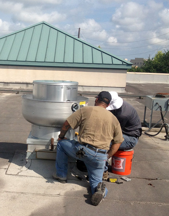 Houston Commercial Air Handling Unit