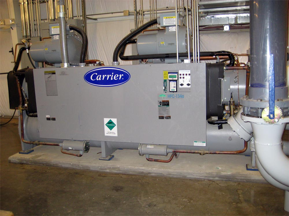 Carrier Commercial Chiller Installation